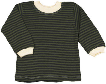Striped Long Sleeve Baby Tee | Organic Baby/Toddler