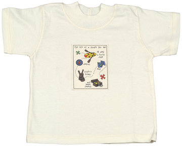 Organic Jersey T-Shirt for Boys or Girls - Pirates!