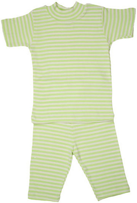 Cotton pajamas with short sleeves - organic cotton pajamas for children