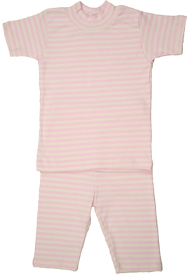 organic cotton pajamas for girls - short sleeve organic pajamas for girls