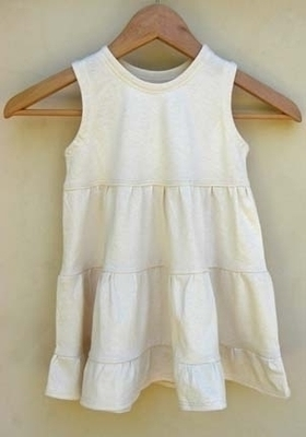 All natural organic jersey dress for girls - for the natural toddler a floaty organic dress