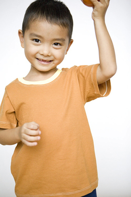 simply natural jersey tee for boys in organic cotton - t-shirt in organic cotton jersey for boys