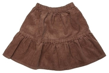 Organic Cotton and Hemp Corduroy Skirt for Girls