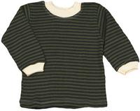 Image Striped Long Sleeve Baby Tee
