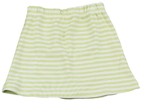 Image Striped Skirt  Lime/Natural