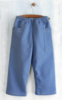 Image French Terry Blue Cargo Pants